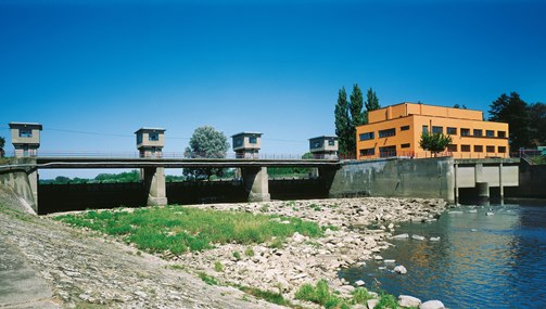 The Spytihnev Hydroelectric Power Station